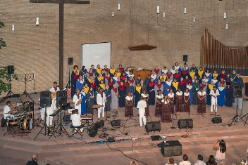 Foto von Gospel United und dem Tana Gospel Choir