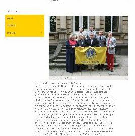 Abbildung von Online-Auftritt Presse des Lions Club Bonn vom 1. Dezember 2012: Text