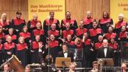 Foto vom Konzert mit dem Musikkorps der Bundeswehr im Jahre 2012